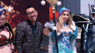 DAC 2017  SirActionSlacks and PPD infiltrate the Cosplay Contest