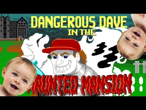 Ностальгический обзор Dangerous Dave in the Haunted Mansion (by Yukevich)