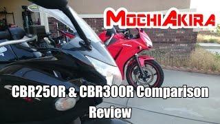 8. CBR250R & CBR300R Comparison Review (Which Bike to Get?)