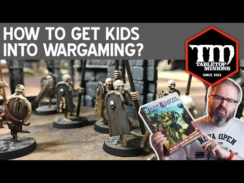 How to Get Kids Into Wargaming?