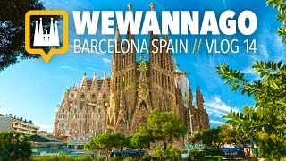 SUBSCRIBE TO WEWANNAGO TV: http://bit.ly/1FxiVp2 INSTAGRAM: https://www.instagram.com/wewannago.tv/TWITTER: https://twitter.com/chris_welzel(CC) Closed Captions / Subtitles in English.We Wanna Go around the world! In vlog #14, We explore Barcelona's most iconic landmark... La Sagrada Familia. This magnificent, yet unfinished masterpiece was designed by Antoni Gaudi (famed modern artist). It's the most visited structure in Barcelona and has an interior as beautiful as its exterior. Thanks for watching WeWannaGo TV,Christiaan & Kseniya Welzelhttp://www.wewannago.tvFilmed with a GoPro Hero 4 Black, Feiyu G4 gimbal and sony rx10 II