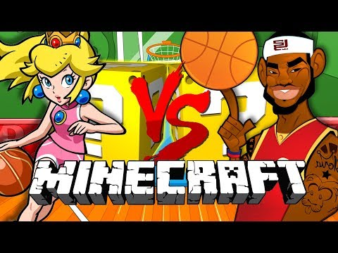 Minecraft: BASKETBALL LUCKY BLOCK CHALLENGE | NBA 2K18 SHOWDOWN!!