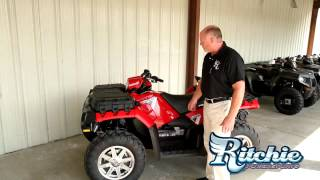 10. 2013 Polaris Sportsman Touring 850 HO EPS Solar Red