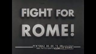 Anzio Italy  city images : ANZIO LANDINGS IN ITALY, MONTE CASSINO, RUSSIAN OFFENSIVE IN ROMANIA WORLD WAR II NEWSREEL 70842