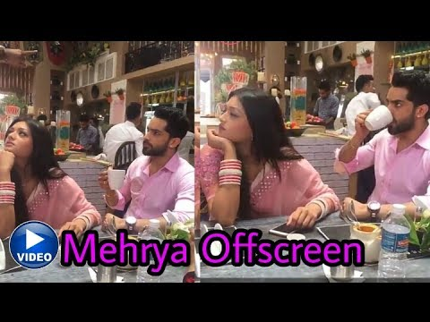 Video Finally ! Mehak and Shaurya aka Mehrya  are together in offscreen video  Much Awaited ❤️ download in MP3, 3GP, MP4, WEBM, AVI, FLV January 2017