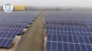 YEO Solar 11 MW Malyn Solar Power Plant Ukraine