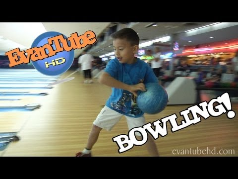 bowling - This week the EvanTubeHD gang took a trip to the bowling alley for some bowling fun. The kids still had a hard time finding balls that were light enough and ...