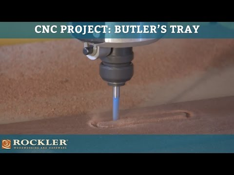 CNC Shark Project: Butler's Tray