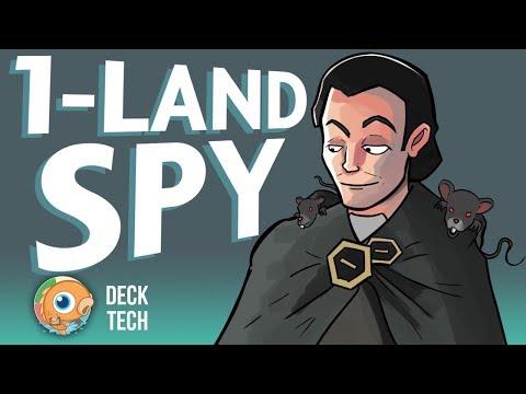 Instant Deck Tech: One Land Spy (Pauper) (видео)