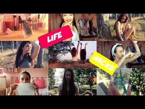 Life Hacks for Girls 2015!