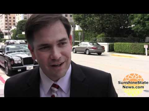 Marco Rubio reacts to Obama budget, high-speed rail, Miami port dredging, etc.