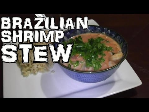 Brazilian Shrimp Stew