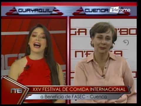 XXV Festival de comida internacional a beneficio de FASEC - Cuenca