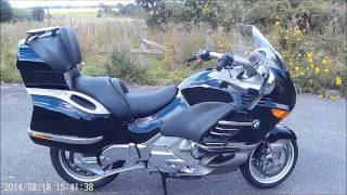 7. the beast (BMW K1200LT LUX)