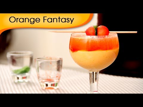 Orange Fantasy – Mocktail Recipe by Ruchi Bharani