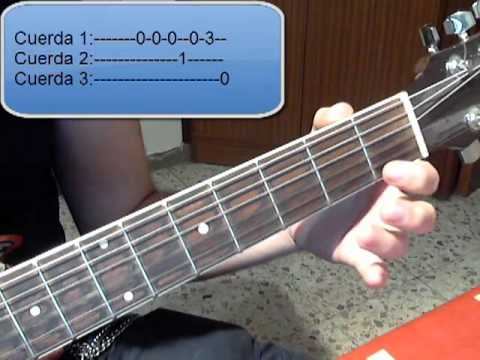 Tutorial Guitarra Super Mario Bros- Parte 1