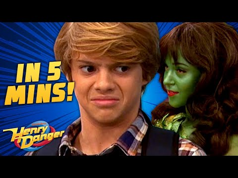 Dream Busters in 5 Minutes! Henry's Stuck In A Dream | Henry Danger