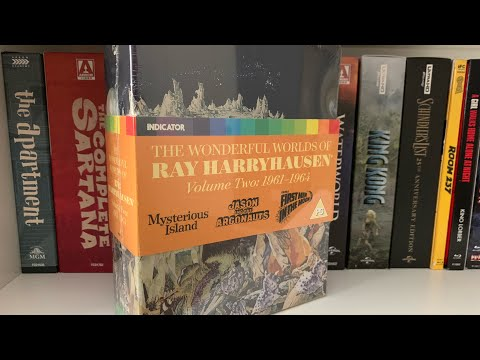 The Wonderful Worlds of Ray Harryhausen Volume Two Indicator Limited Edition Unboxing