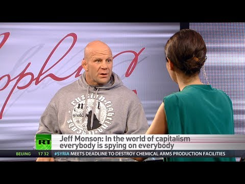 Jeff Monson: General world strike can shut down govts owned by corporations