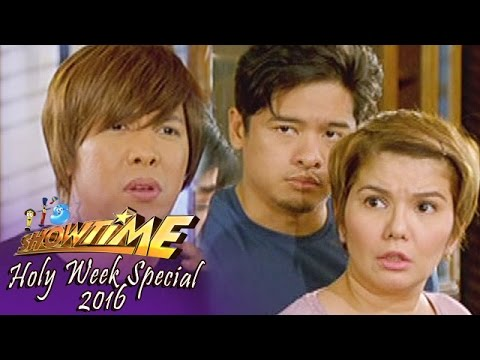It's Showtime Holy Week Special 2016: Family Feud | Homecoming