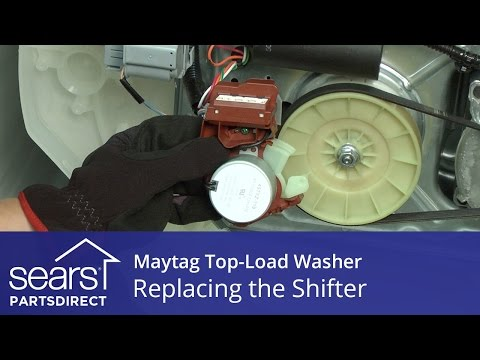 How to Replace Shifter Assembly on a Maytag Vertical Modular Washer (VMW)