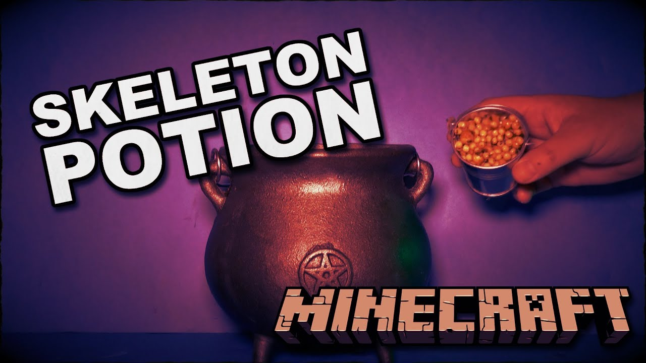 How To Make Minecraft Potion To Spawn A Skeleton