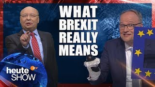 This is what Brexit REALLY means! German news satire