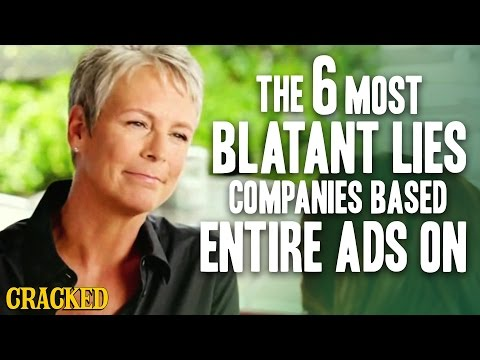 WATCH: The 6 Most Blatant Lies Companies Based Entire Ads On