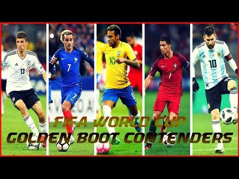 Top 10 Contenders For Golden Boot In FIFA World Cup ★ 2018