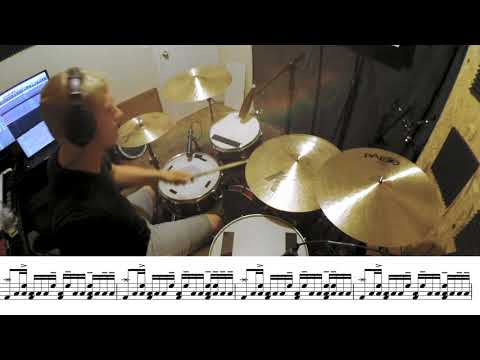 Another in the Fire (Live) - Hillsong UNITED   Drum Cover w/ sheet music