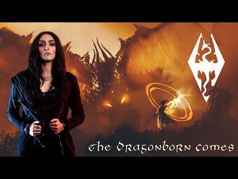 """Skyrim Bard  """"The Dragonborn Comes"""" Cover by Nicoletta Rosellini"""