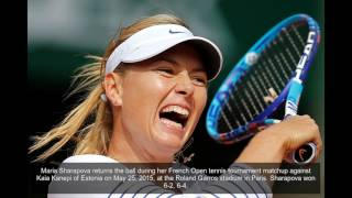 Tennis player Maria Sharapova attends The Players' Tribune Hosts Players' Night Out on July 11 in Beverly Hills, California.