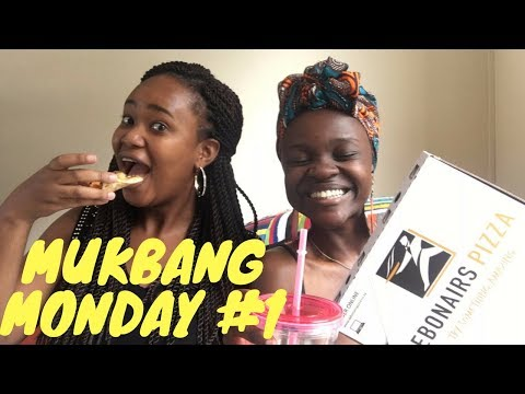 Mukbang Monday + Chit Chat Ft. Teshie Ogallo| Favourite Youtubers And Food |my Naturawl
