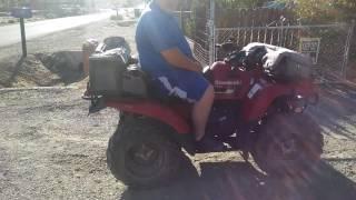 10. Kawasaki 360 4x4 my new hunting rig