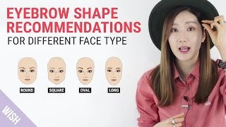 Video Perfect Eyebrow Shapes for Your Face | Wishtrend TV MP3, 3GP, MP4, WEBM, AVI, FLV September 2018