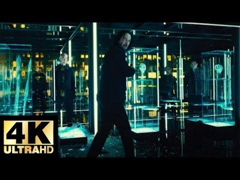 John wick: Chapter 3 - Parabellum(2019) - Glass room fight scene Movieclips