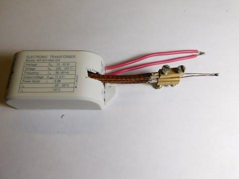 Импульсный паяльник из трансформатора