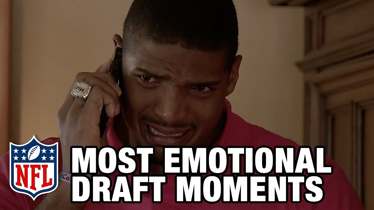 Most Emotional NFL Draft Moments | NFL