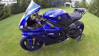6. 2018  Yamaha R6 walk around + akrapovic sound  YouTube