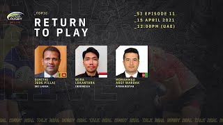 Asia Rugby Live S3 Episode 11 Return To Play