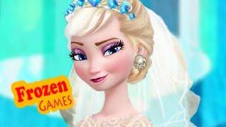 DIsney Frozen Games   Frozen Wedding Dress Frozen Games For Kids Girls Games