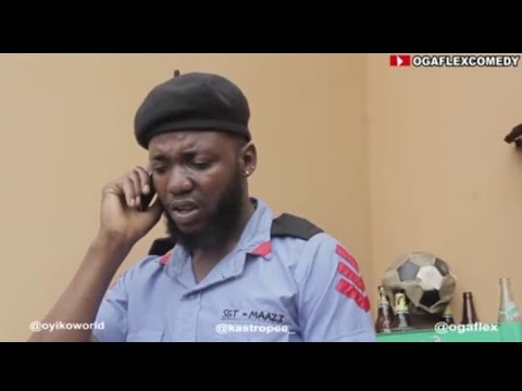 POLICE OFFICERS    (my land land lady and i ep 5) ft Real house of comedy and ogaflex