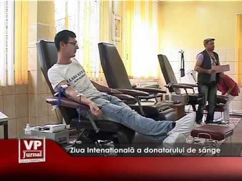 Ziua Intenaţională a donatorului de sânge