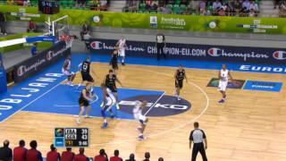 Dunk of the Game A. Ajinca FRA-GER EuroBasket 2013