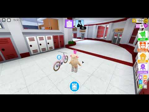 playing roblox high school with NO RULES
