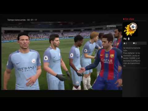 Barcelona Vs Manchester City - Uefa Champions League 19/10/2016 - Simulador Fifa 17
