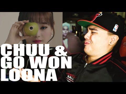 LOONA(Chuu & Go Won) -