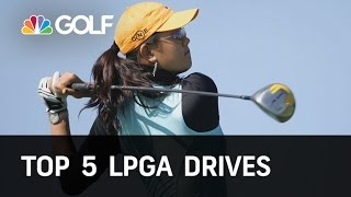 Top 5 LPGA Drives of All Time | Golf Channel