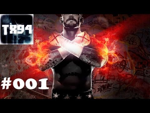 Let's play WWE 13 Universe Mode #001 gimme a hell yeah | Xardas 3:16 [HD/DE]