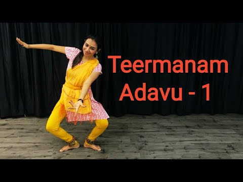 Learn Bharatnatyam | Lesson No 46 | Teermanam Adavu -1